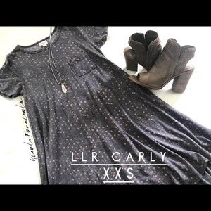 LuLaRoe Dresses - EUC LuLaRoe Carly XXS